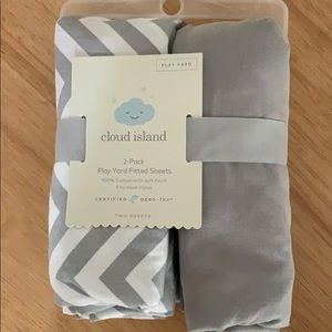 🆕 2-pack fitted crib sheets